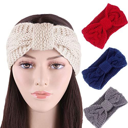 Bandeaux De Noeud Chaud Pour Les Femmes Automne Hiver Accessoires De Cheveux Filles Bandes De Cheveux Mode Chapeaux 4pcs