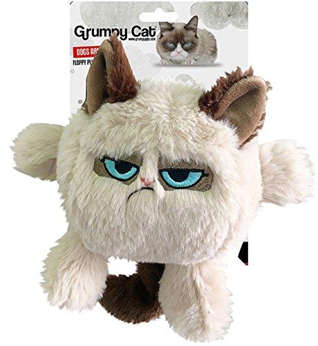 OSKR 14209 Grumpy Cat-Spielzeug Für Hunde und Welpen, 20cm