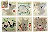 Hess 14957 – Puzzle de Madera para niños a Partir de 3 años, Oso Natural, 6 imágenes, 24 Piezas, Regalo de cumpleaños, Navidad o Pascua