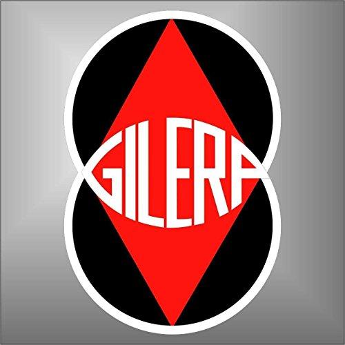 Adesivo Gilera Moto GP Superbike Motorcycle Bikers Sticker