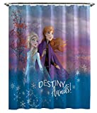 Jay Franco Frozen 2 Shower Curtain, White