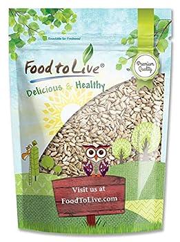 Sunflower Seeds 8 Ounces - Non-GMO Verified Kernels No Shell Kosher Raw Vegan Sirtfood Bulk