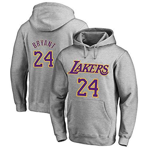 Herren Basketball Hoodie Sweater NBA Lakers 24# Kobe Bryant Basketball Jacke