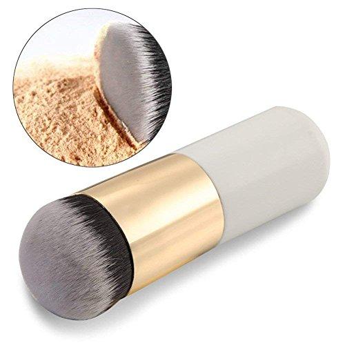 Demarkt Chubby Pier Foundation Pinsel Flach Creme Make up Pinsel Kosmetik Gesicht Make up Pinsel...