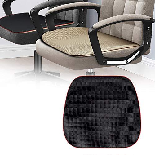 ZLMFBMStomsHan Kühl Sitzbezug Auto Eingebaute 5 Lüfter, Autositz Mit Lüfter 3-Gang-Belüftung für den Sitz des Bürostuhls im Büro,Black