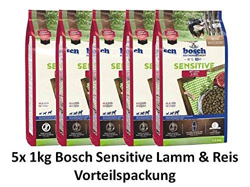 Bosch Sensitive Lamm & Reis | 5X 1kg Sparpackung