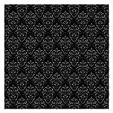 Tapete selbstklebend - Dunkler Barock - Fototapete Quadrat 192x192 cm