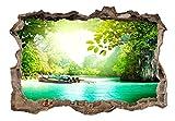 murando - 3D ILLUSIONE OTTICA | 140x100 cm | Carta da parati sulla fliselina | Hit | Carta da parati in TNT | Quadri murali | Fotomurale | Poster Panorama Paesaggio Natura c-C-0107-t-a