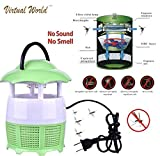 Virtual WorldMosquito Killer Lamp Mosquito Trap Lamp Without Radiation for Ba