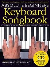 absolute beginners keyboard songbook