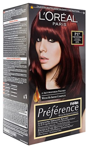 L'Oreal Paris Feria Preference P37 Pure Plum Power