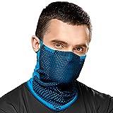 Naroo F5 - Máscara de Deportes con Filtro y Calentador de Cuello Reutilizable...