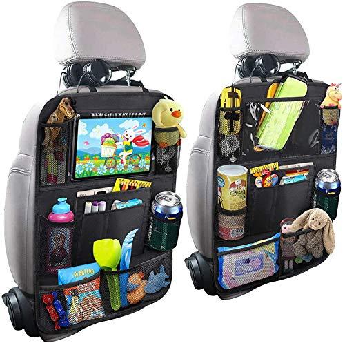 EFULL - Organizer da viaggio per lo schienale del sedile dell'auto, con tasche multiple portaoggetti
