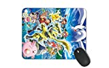 Pokemon Mouse Pad Comic Mouse Pad for Kids HD Printed Mouse Pad Large Mouse Pad (Pokemon)