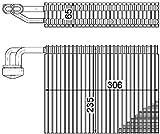 Mahle AE 58 000P Evaporatore
