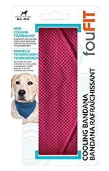 Evaporation cooling dog collar