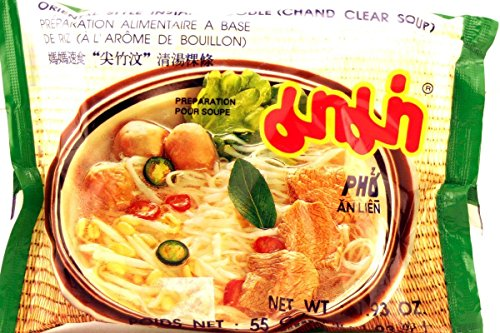 Oriental Style Instant Noodle (Chand Clear Soup) - 1.93oz (Pack of 30)