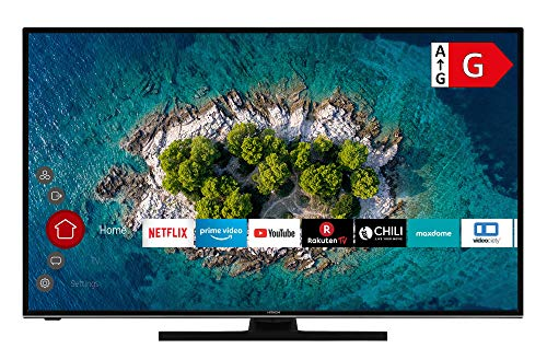 HITACHI U43K6100 Smart TV 43 Zoll (109 cm) I Fernseher (4K Ultra HD, HDR10, Dolby Vision HDR, Triple Tuner, Alexa, Bluetooth, HD+) I WLAN-Streaming Prime Video, Netflix, YouTube UVM
