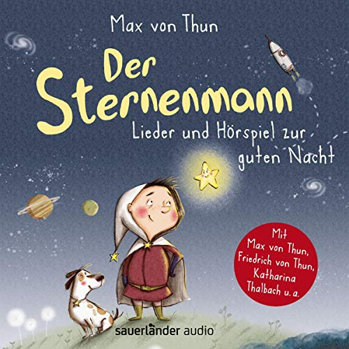 Der Sternenmann audiobook cover art