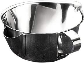 Korrosionsbest/ändig Ungiftig Und Geschmacksneutral Volwco Fettabscheider Saucen- Und Fettabscheider Mit Sieb Aus Edelstahl 304 280 Ml // 450 Ml // 550 Ml // 800 Ml