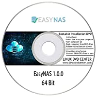 EasyNAS Linux 1.0.0 (64Bit) - Bootable Linux Installation DVD
