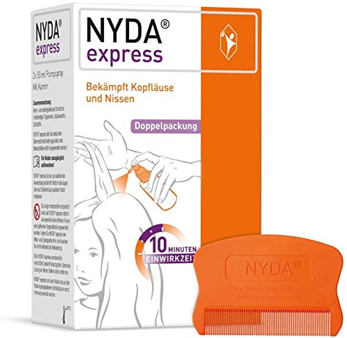 Nyda express Pumplösung, 2X50 ml