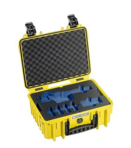 B&W outdoor.cases Typ 3000 mit DJI Osmo X3 Inlay - Das Original