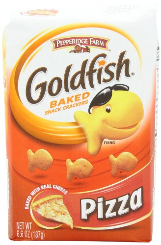 Pepperidge Farm Goldfish, Pizza, 6.6 Ounce (Pack of 8)