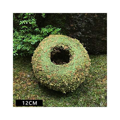 Maceta de musgo con forma de nido de pájaros, decoración para el hogar, oficina, escritorio, jardín, decoración de bricolaje como se muestra en la imagen. 3