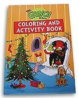 ウィンターホリデー How The Grinch Stole クリスマスぬり絵とアクティビティブック - 80ページ (オレンジ)