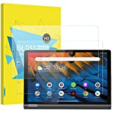 MoKo 2 Stück Folie Kompatibel mit Lenovo Yoga Smart Tab Tablet 10.1 inch (YT-X705F), Klar HD 9H Panzerglas Bildschirmschutzfolie Schutzfolie Glasfolie Screen Protector Kompatibel - Transparent