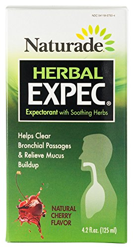 Herbal Expec Cherry Flavor 4.2 fl Ounce (125 ml) Liquid