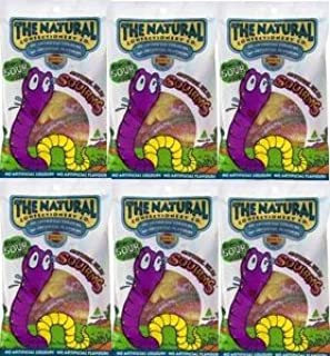 Natural Confectionery Co Jelly Squirms 180g - Pack of 6