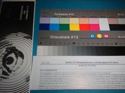 B.I.G. Stufengraukeil und Farbkarte #13 Länge 18cm