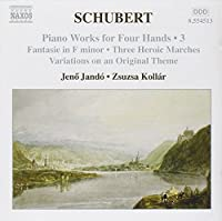 Piano Works for Four Hands 3