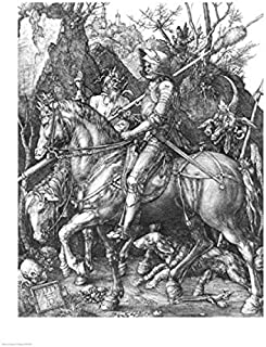 Posterazzi The The Knight Death and the Devil 1513 Poster Print by Albrecht Durer, ((18 x 24)
