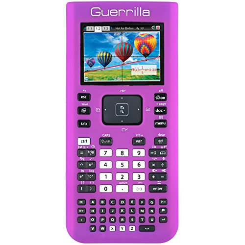 Guerrilla Silicone Case for Texas Instruments TI Nspire CX/CX CAS Graphing Calculator, Purple Photo #6