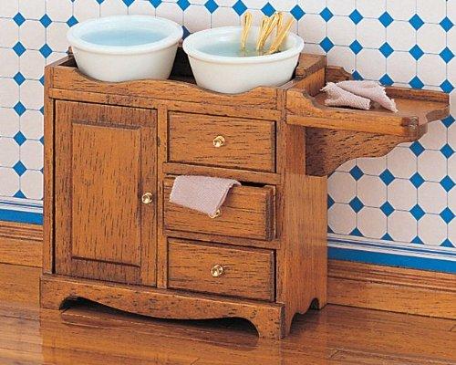 MiniMundus Küchen-Spülschrank für das Puppenhaus, Bausatz