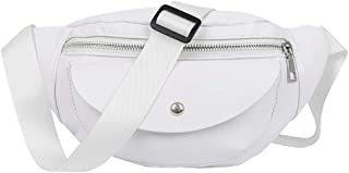 Fashion Leather Waist Fanny Pack Chest Bag Phone Purse Adjustable Bum Bag for Women Girls