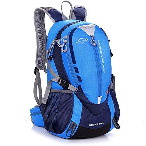 ZXYMUUSSKT Travel Rugzak Mannen en Vrouwen Grote Capaciteit Mountain Bag Grote Capaciteit Mannen en Vrouwen Reizen Rugzak Schoudertas Outdoor Reizen Vakantie Vrije tijd Mountaineering Bag