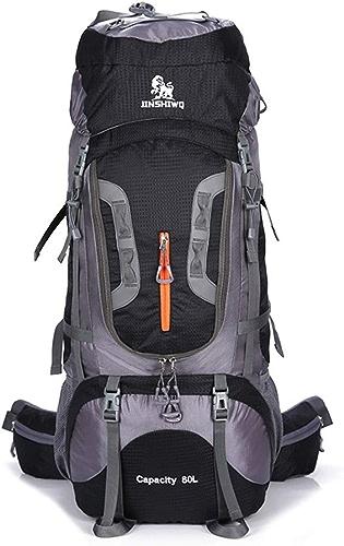 Sac à dos de randonnée Trekking Bag alpinisme sac à dos femmes 70L - sac à dos de sports de plein air à l'épreuve de la pluie randonnée sac à dos adapté au ski de montagne en hiver Camping en plein ai