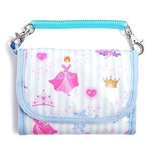 さいふ (チェーン付き) 子供用 プリンセスドレスで彩るパウダールーム(ストライプ) N5512600
