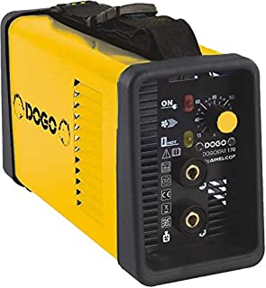 Dogo 601822 Soldador inverter 140 Amp, Amarillo