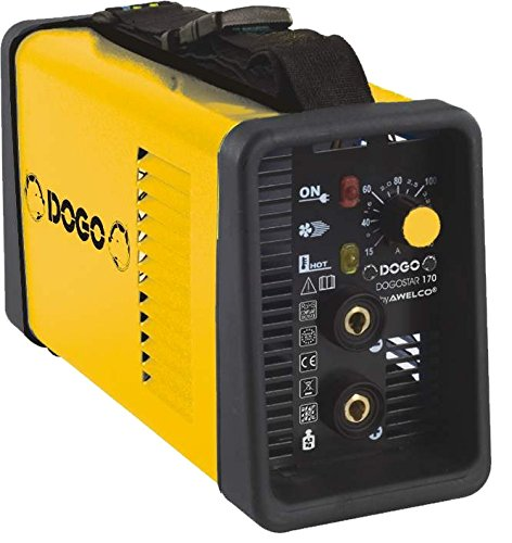 Dogo 601822Soldador inverter 140Amp, Amarillo