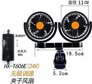 m/étal//10 cm//24v voiture fans 12v 24v gros camions les ventilateurs les voitures les petits ventilateurs secouer les chefs vitesse et muet
