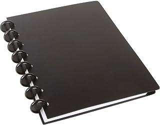Spiraalboek arc PP vulbaar zwart A5 60 vellen 22013