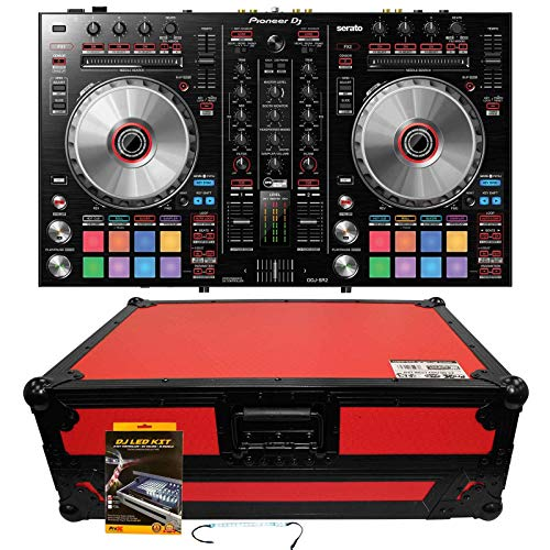 Great Deal! Pioneer DDJ-SR2 Portable 2-Channel DJ Controller for Serato DJ w/Red Hard Case
