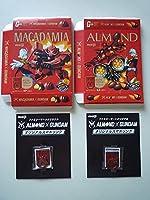 ファミリーマートオリジナル ALMOND× GUNDAM オリジナルスマホリング Zeon CHAR 2種セット