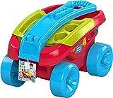 Mega Bloks Mon Wagon Trieur de Formes rouge, jeu de blocs de construction, 25 pièces, jouet pour bébé et enfant de 1 à 5 ans, FVJ47