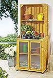 Gartenschrank mit Ablage